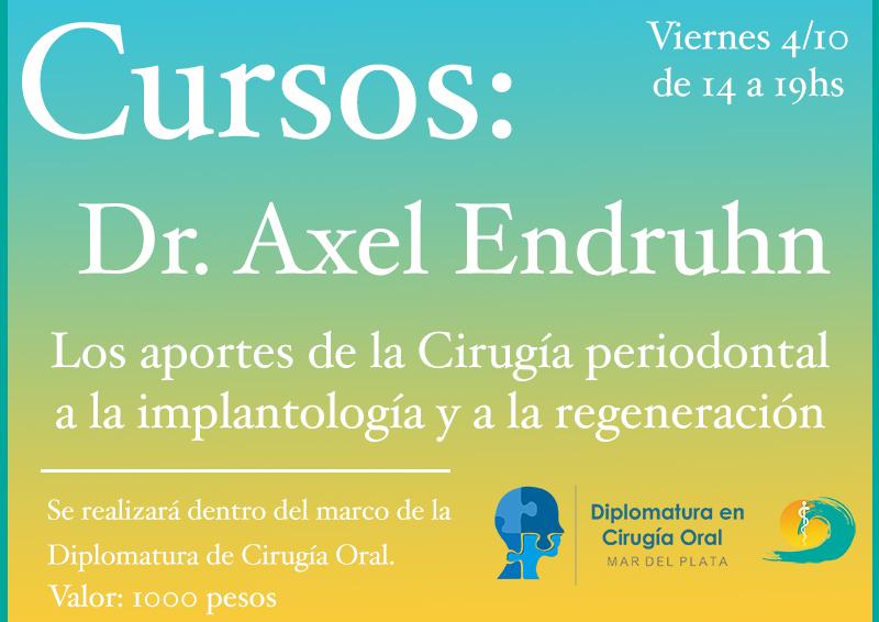 Los aportes de la Cirugía Periodontal a la Implantología y a la regeneración.